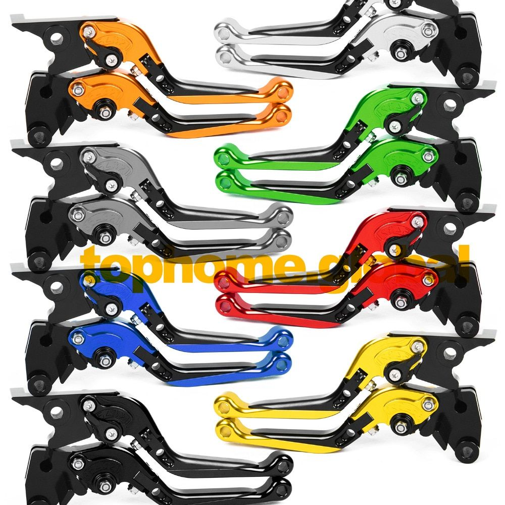 For Yamaha V-MAX VMAX 1200 1985 - 2007 Foldable Extendable Brake Clutch Levers 1997 1998 1999 2000 2001 2002 2003 2004 2005 2006