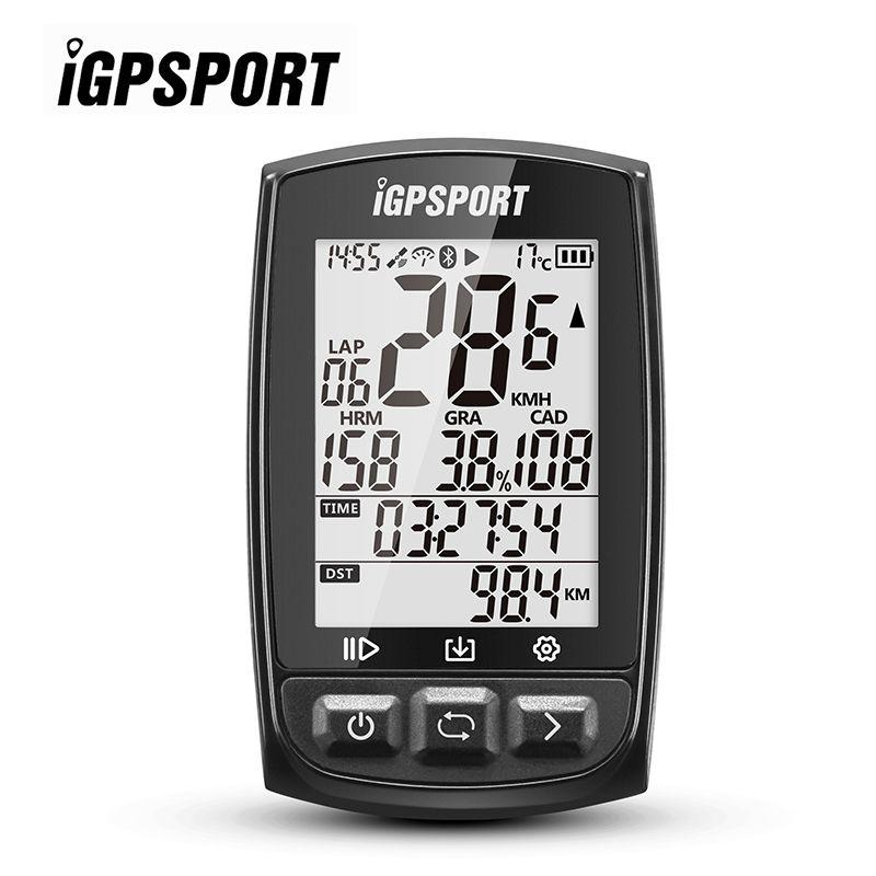 iGPSPORT iGS50E Cycling Computer IPX7 ANT Bluetooth 4.0 High Sensitive GPS Stopwatch Speedometer +Free Mount Bike Sport Computer