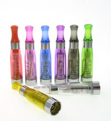 CE4 Atomizer Clearomizer for Ego Ego-t Evod Vape Pen 510 thread Electronic e cigarette ecigs 1.6ml 8 Colors