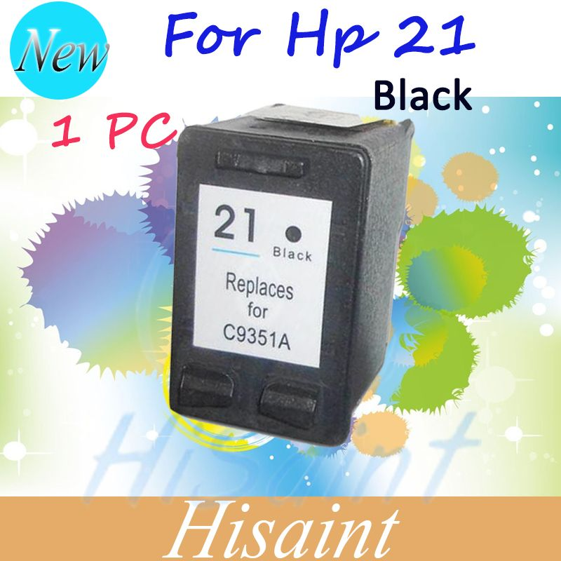 Hot  black Ink Cartridge For HP 21 for HP21 Compatible For HP Deskjet 3915 D1530 D1320 F2100 F2280 F4100 F4180 Printer Free