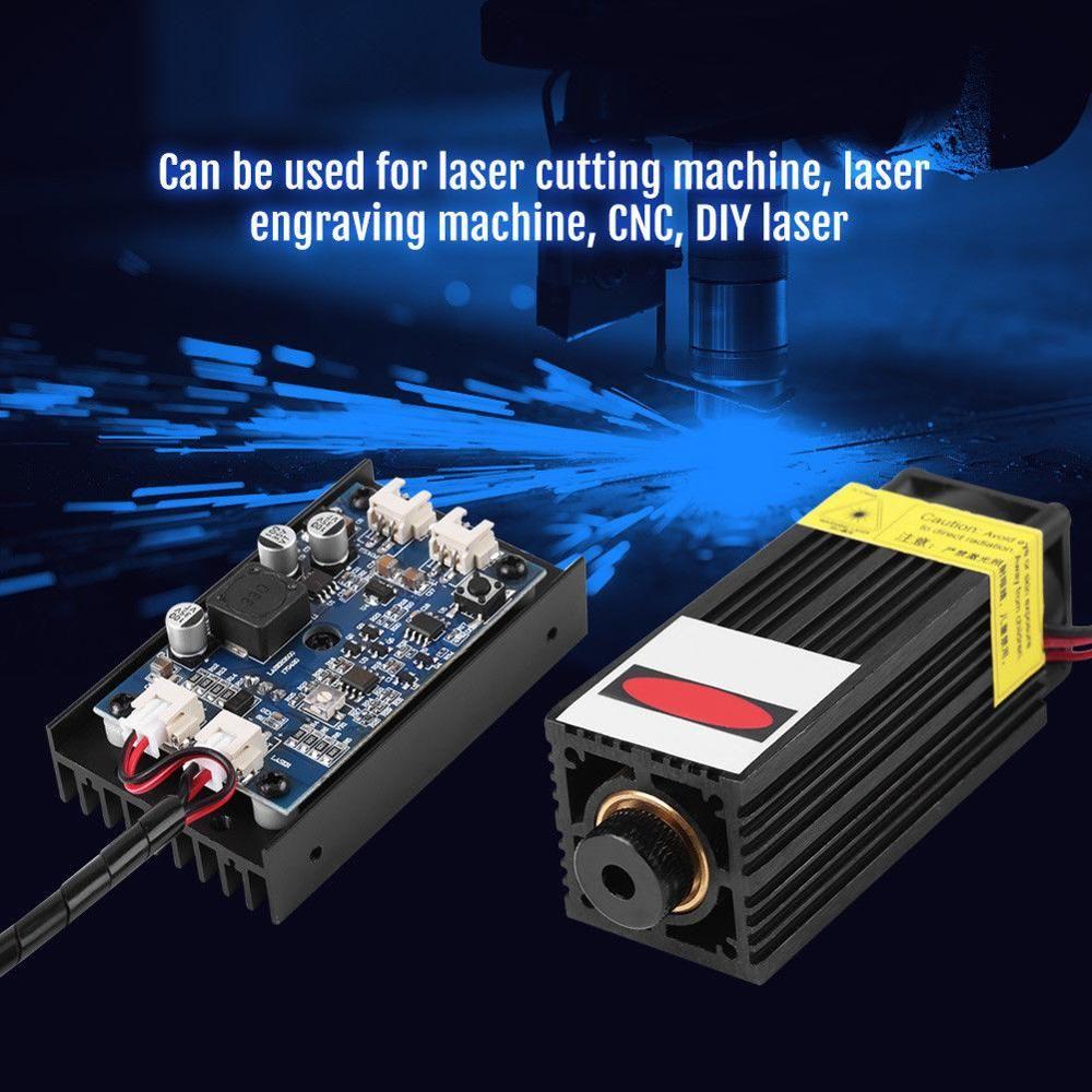 15WB Laser Kopf Gravur Modul w/TTL Leistungsstarke 450nm Blu-ray Holz Kennzeichnung Cut-Tool E Modul DIY Maschine und laser Schneiden EU/UNS