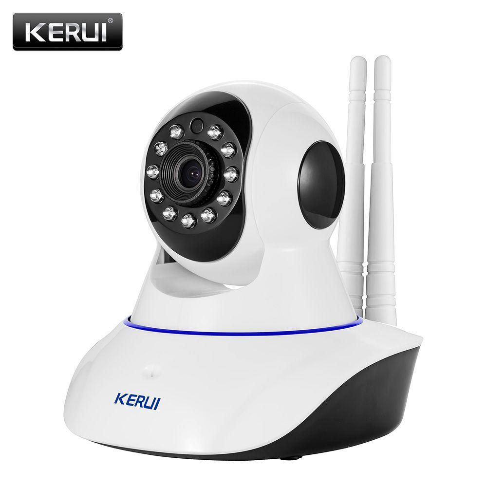 KERUI N62 Wireless Network camera 720P HD <font><b>WiFi</b></font> IP camera Webcam Home Security Camera Surveillance PnP P2P APP Pan Tilt IR Cut