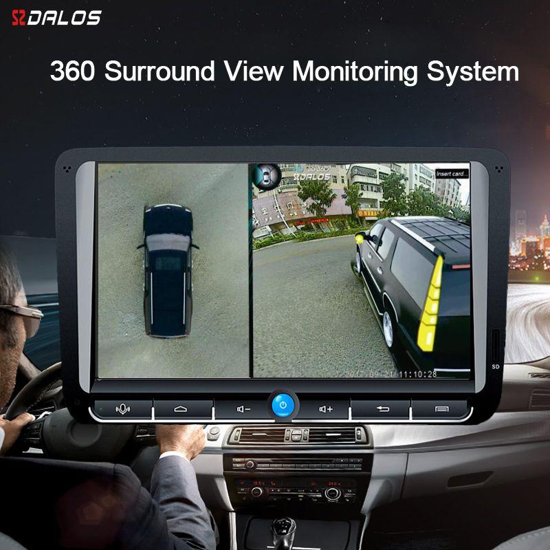 SZDALOS Für SUV HD 360 Grad 3D Surround Fahren Vogel Ansicht Panorama Mit 4 Auto Kamera 1080 p recorder