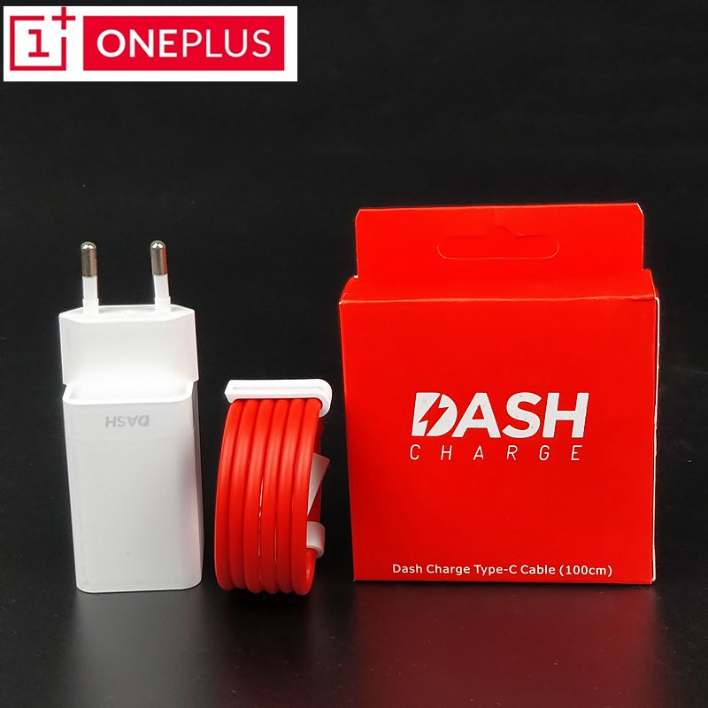 Original <font><b>ONEPLUS</b></font> 6 Dash charger 5t 5 3t 3 One plus Smartphone EU Power Supply Unit Usb Adapter Fast charge Type C Dash Cable