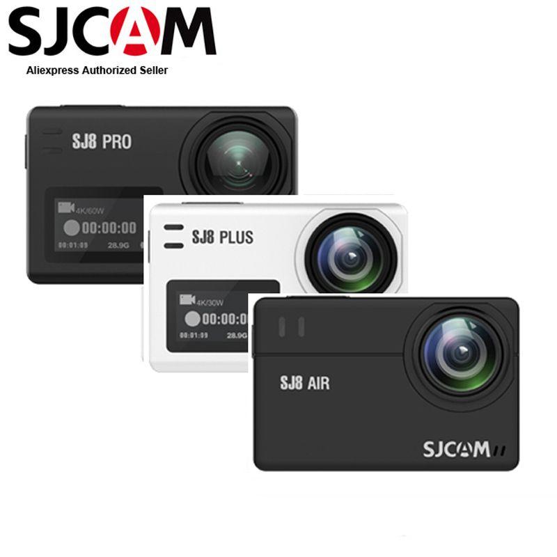 Original SJCAM SJ8 Air & SJ8 Plus & SJ8 Pro 4K 30fps Ultra HD Wasserdichte Wifi Action Kamera 2,33