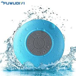 FUWUDIYI Drahtlose Tragbare Bluetooth Lautsprecher Wasserdichte Bluetooth Dusche Lautsprecher für iPhone MP3 Handfree Auto Tragbare Lautsprecher