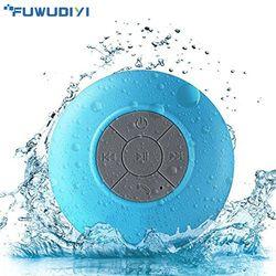 FUWUDIYI Wireless Portable Bluetooth Speaker Waterproof Bluetooth Shower Speaker for iPhone MP3 Handfree Car Portable Speaker