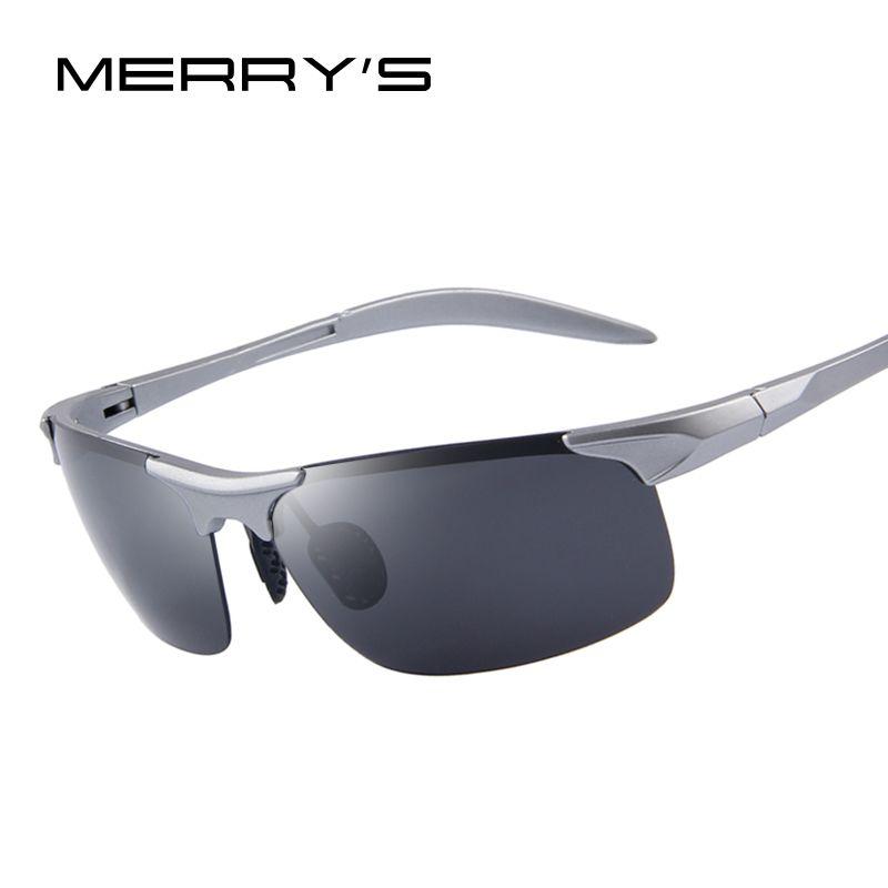 MERRY'S 100% Polarisierte Fahrer Sonnenbrille TR90 Ultra Leichte Sonnenbrille