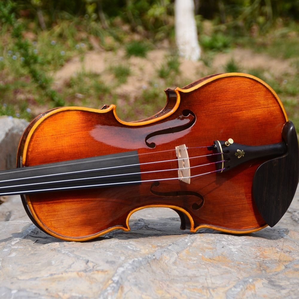 E300 Christina Violino 4/4 Oil varnish musikinstrumente, hohe qualität violine + fall + bogen + kolophonium (drei farben zu choiose)