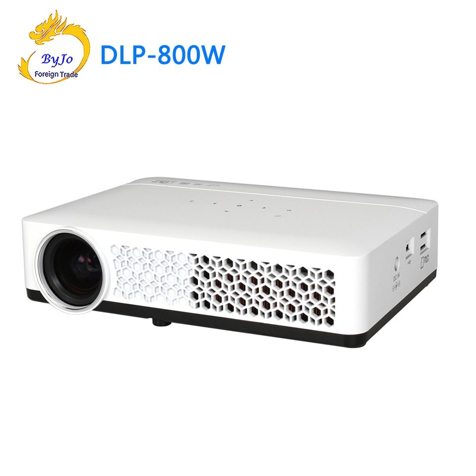DLP-800W Mini led projecteur 3D 1080 p Full HD projecteur WIFI Android Projecteur De Poche DLP projecteur Home Cinéma DLP 800 W