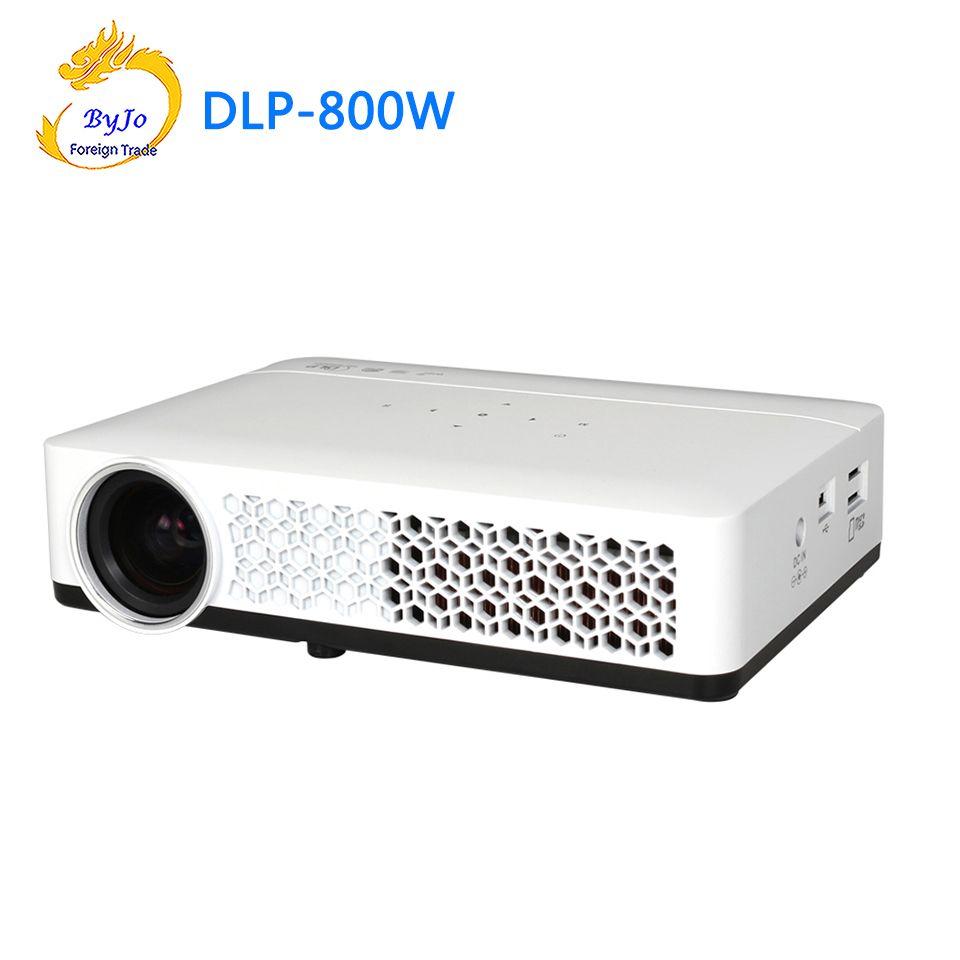 Poner Saund DLP-800W Mini projecteur WIFI Android projecteur DLP projecteur Home cinéma projecteur DLP 800 W projecteur led projecteur