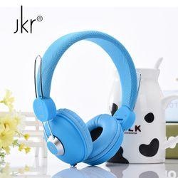 JKR Big Hifi Casque Audio Wired Earphone For Phone Computer Player Headset Headphones Head Auricular Sluchatka Headfone Kulakl K