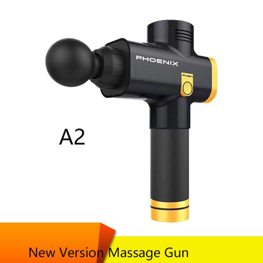 Bearded Fascia Gun Massage Pistole Elektrische Tiefe Muskel Entspannung Fitness Massage Greifen