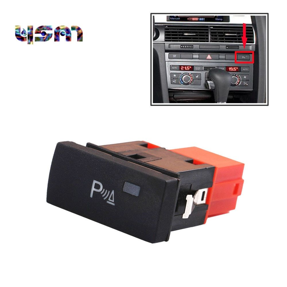 NEW PDC Switch Parking Assistant Button For A6 S6 C6 Allroad RS6 4F0919281 4F0 919 281 4FD919281 4FD 919 281