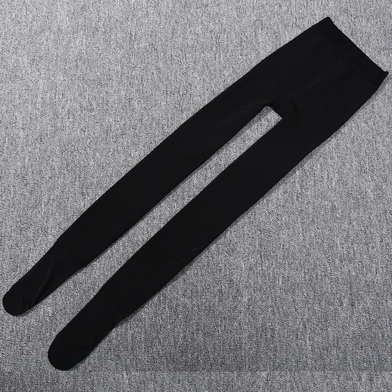 Thick Soles Thin Tights Pantyhose Anti Hook Winter, Stovepipe Stockings Stovepipe