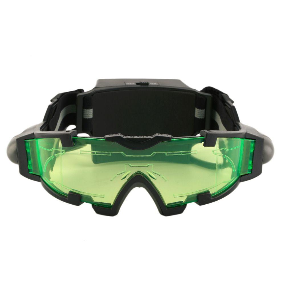 2017 neue Ankünfte Einstellbar LED Nachtsichtgeräte Mit Flip-Out Lichter Blick Objektiv Gläser Heißer Verkauf