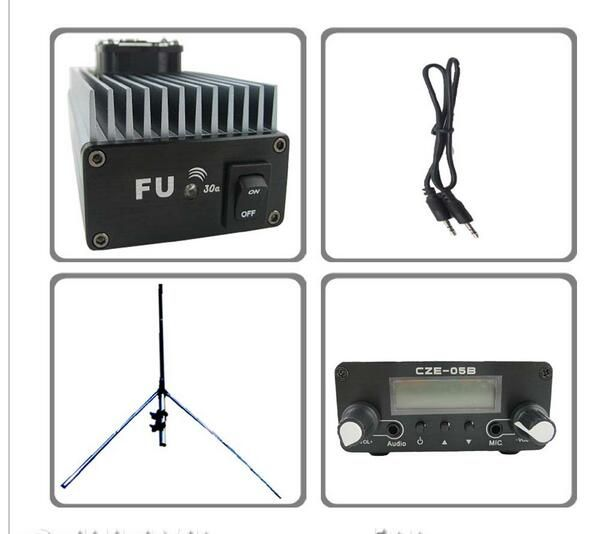 FMUSER 30W FU-30A Professional FM amplifier transmitter KIT