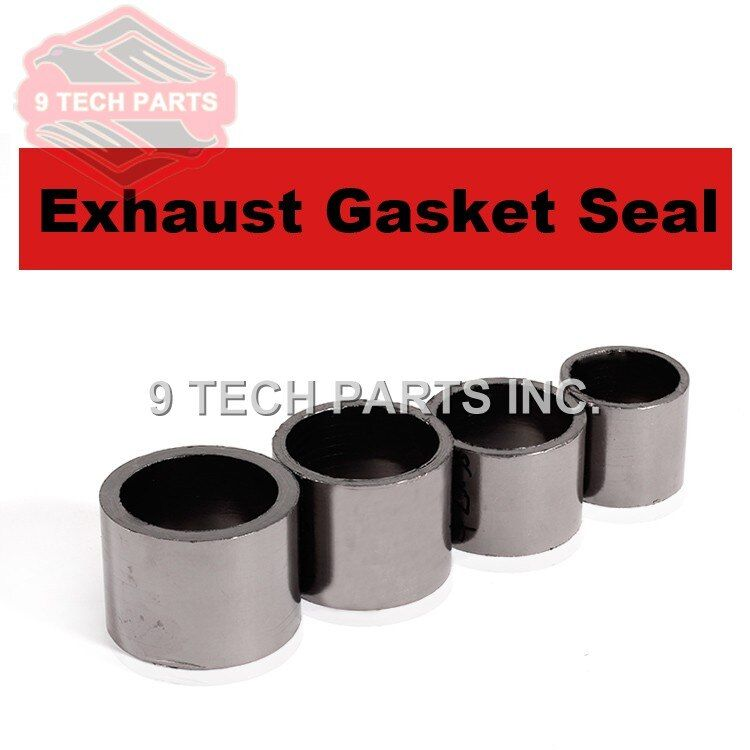 Universal MOTORCYCLE Exhaust Silencer Gasket Joint Seal Exhaust GASKET FIBRE Silent Seal Ring select model with diameter sizes