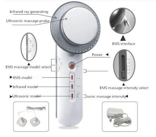 Ultrasons Cavitation EMS Corps Minceur Masseur Perte de Poids Lipo Anti Cellulite Fat Burner Galvanique Infrarouge Thérapie Par Ultrasons