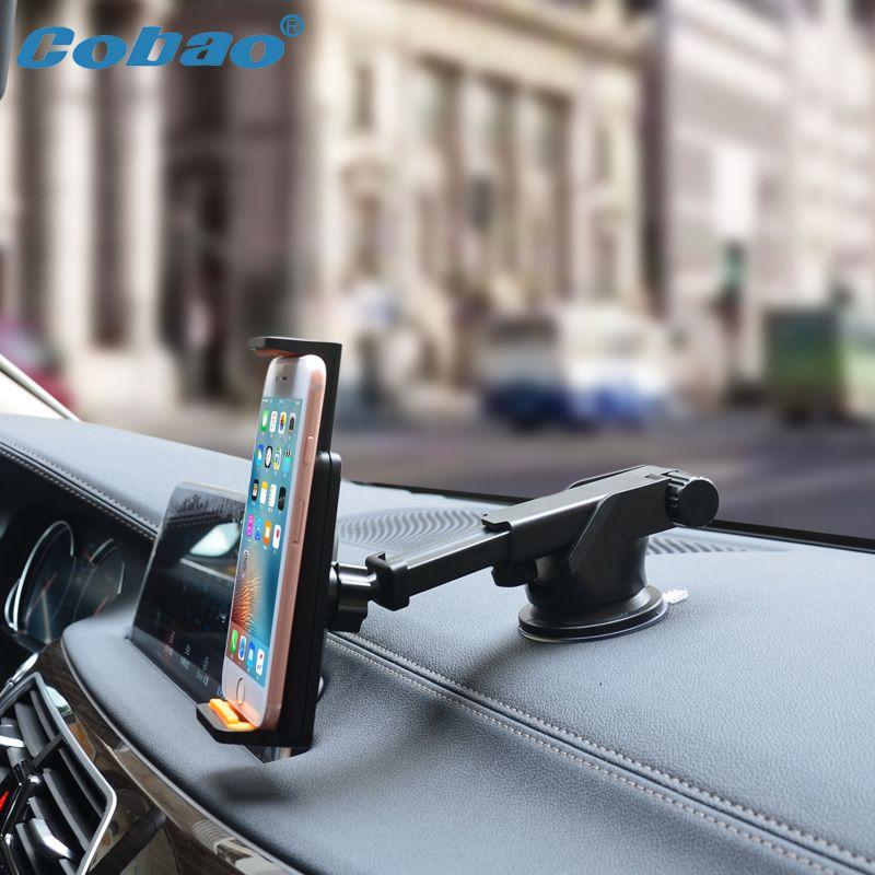 Universel Support de Voiture De Téléphone Portable de Tableau De Bord De Pare-Brise pour iPhone 6 Samsung Galaxy Grand Prime xiaomi redmi note 2