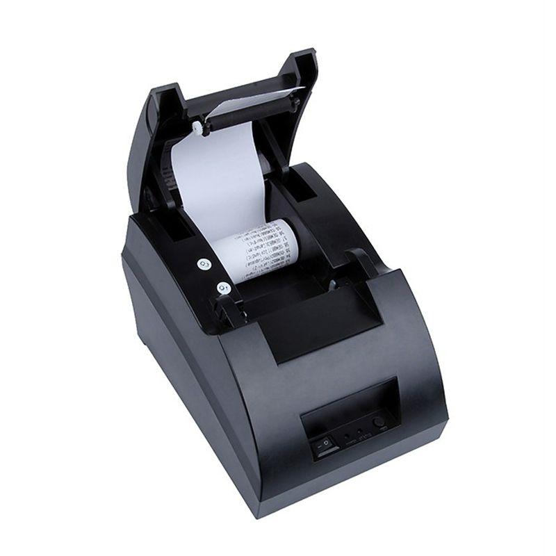 Livraison gratuite Nouveau mini 58mm Ticket Thermique Billet D'imprimante POS 5890C étiquette Imprimante USB Port Interface POS Imprimante