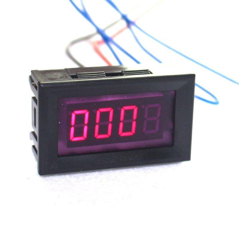 Rote LED Auto Motorrad Digitaler Tachometer Tacho Gauge mit Motor Geschwindigkeit 1-8 Zylinder Benzin Auto Automatisch