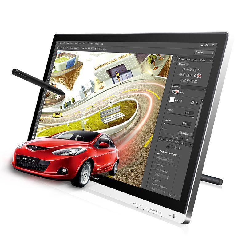 HUION GT-220 V2 21,5 8192 Ebenen Grafiken Tablet Monitor Digitale Tablet Monitor IPS LCD Monitor Pen Display Monitor Mit geschenk