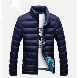 2018 nuevo Chaquetas parka hombres caliente venta calidad Otoño Invierno warm Outwear marca Slim mens Abrigos cortavientos informal Chaquetas hombres m-4xl