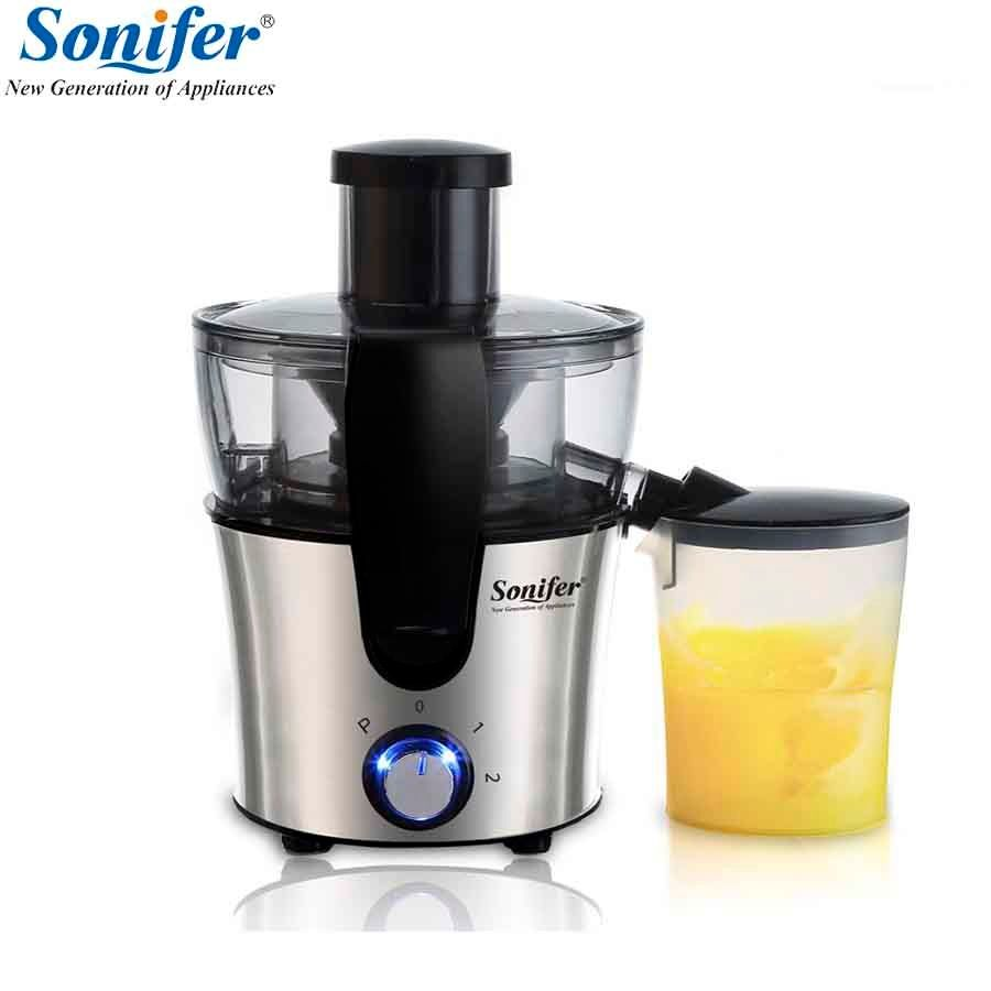 2 Speed Stainless steel Juicers Fruit And Vegetable Juice Extractor Removable Fruit Drinking Machine For Home Sonifer