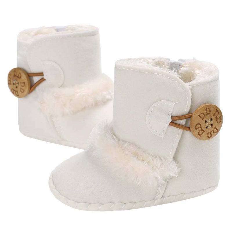 Warme Herbst Winter Fleece Babyschuhe Kleinkind Weiche Sohle Stiefel Mädchen Jungen Kleinkinder Schnee Stiefel Turnschuhe