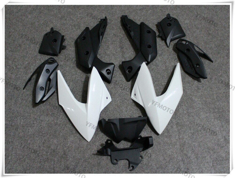 Motorcycle ABS Unpainted White Fairings BodyWork Kit For YAMAHA XJ6 XJ 6 2009-2012 10 11 +4 Gift