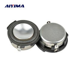 Aiyima 2 PCS 1 Inch Full Range Audio Portable Speaker 8Ohm 4 W Woofer Loudspeaker Speaker Home Theater Sistem untuk Harman