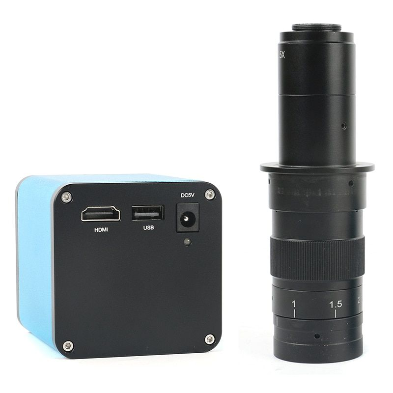 Autofocus 1080P 60FPS SONY IMX290 HDMI Video Auto Focus Industry Video Microscope Camera 180X C-Mount Lens For PCB SMT Repair