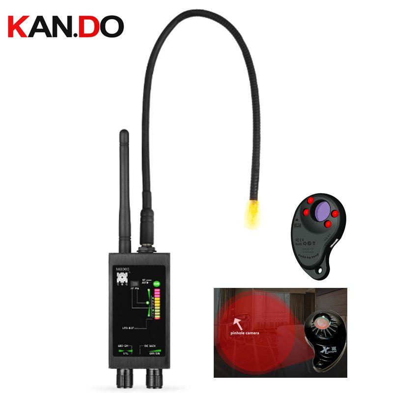hidden Magnet sensor detector+1MHz-12GHz Wireless spy Signal Detectors RF Bug Detector lens scanner spy GPS Tracker Finder