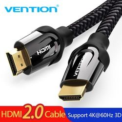 Vention HDMI Cable HDMI to HDMI Cable 4K HDMI 2.0 3D 60FPS Cable for Splitter Switch TV LCD Laptop PS3 Projector Computer Cable