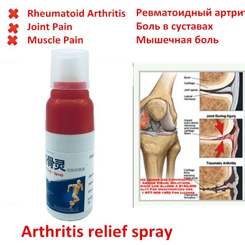 Soulagement de la douleur spray rhumatisme arthrite, entorse musculaire douleur à la taille du genou, plâtre orthopédique tigre