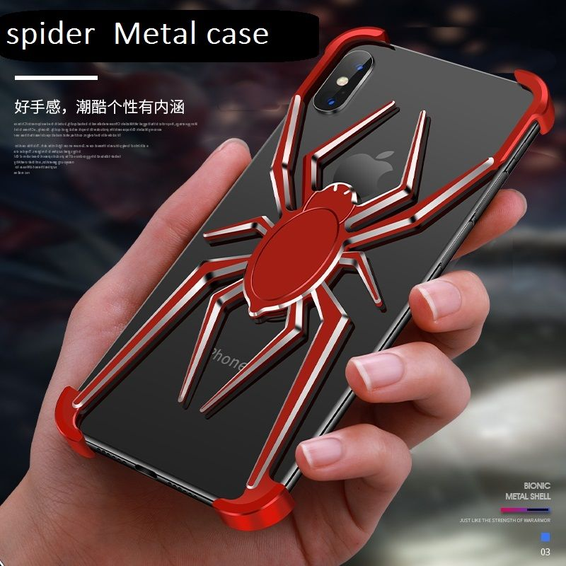 Spider The element stents pour Apple iPhone XS Max Coque pour iPhone x Coque iPhone Xr Xs X luxe style Coque antichoc