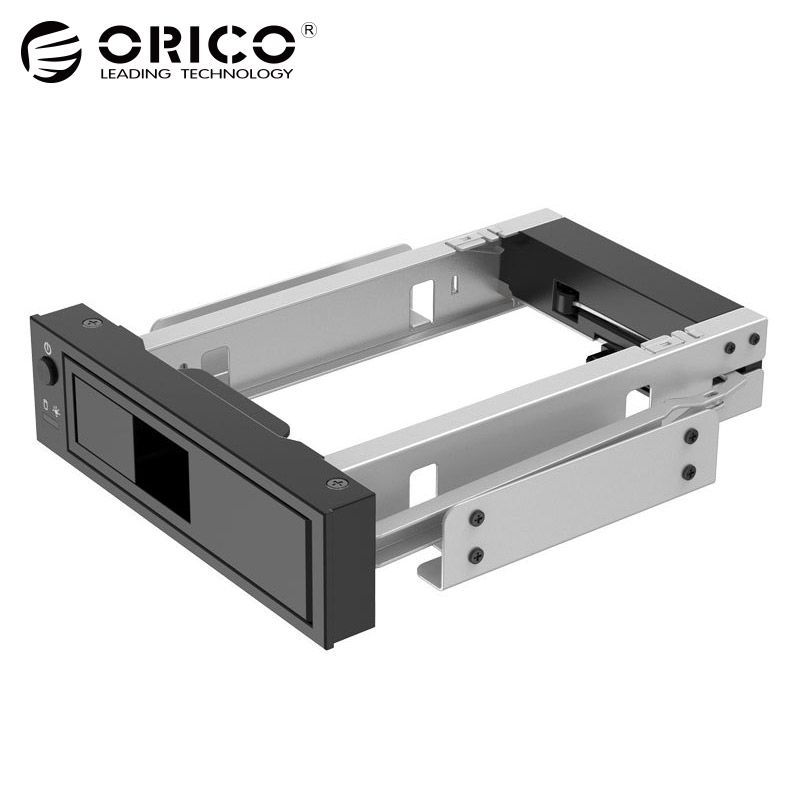 3.5 inch SATA HDD Frame Mobile Rack Internal HDD Case CD-ROM Space Tool Free Design Support MAX 6TB (1106SS)