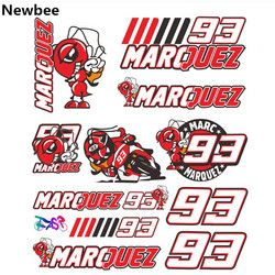 Newbee el Doctor Rossi 46 VR46 GP MM 93 motocicleta motocross etiqueta del equipaje del casco para Yamaha Honda Suzuki BMW kawasaki