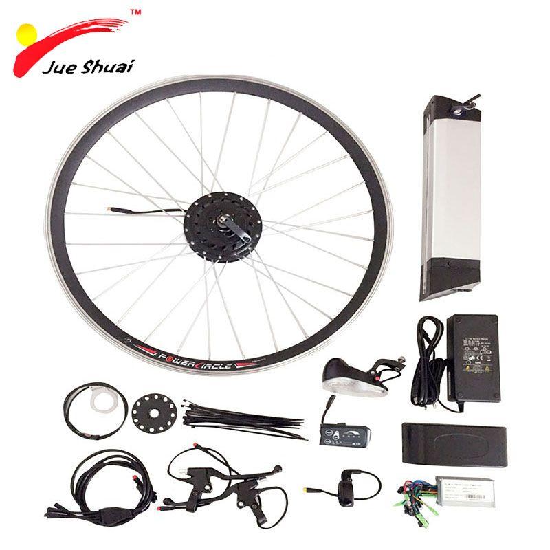 36V 250W - 500W Electric Bike Kit for 20 26 700C Wheel Motor Kettle Battery LED LCD <font><b>Ebike</b></font> e bike Electric Bike Conversion Kit
