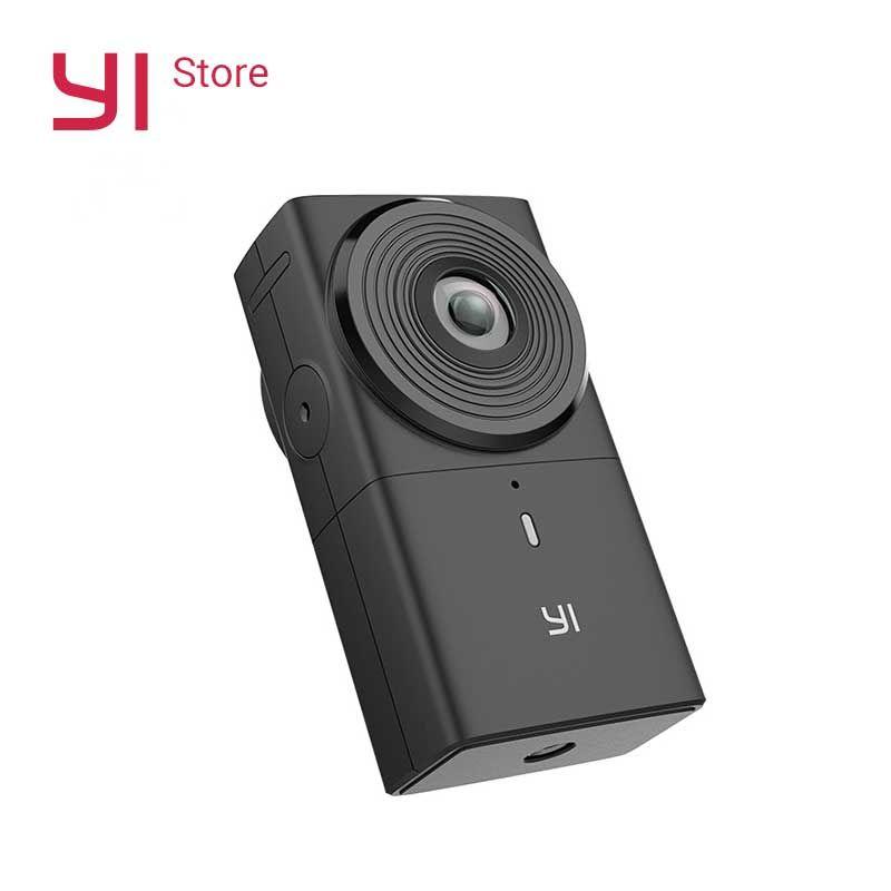 YI VR 360 Kamera Action Cam 220 grad Dual Objektiv 5,7 K/30fps Immersive Mühelose Panorama Kamera Digital kamera