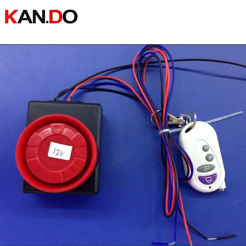 12 V de control remoto Antirrobo, 110db alarma de Vibración, Vespa de La Motocicleta de alarma alarma moto, moto alarma perdida anti