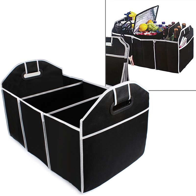 Car Trunk Organizer Car Toys Food Storage Container Bags Box Styling Auto Interior Accessories Supplies Gear Products #EA10405