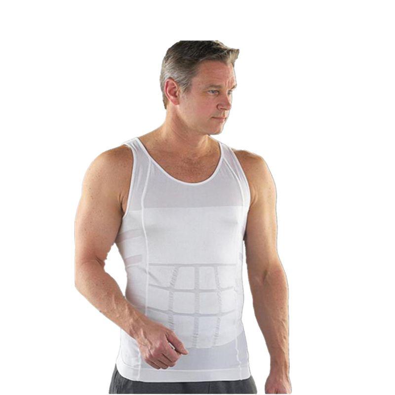 Men Slimming Underwear Body Shaper Waist Cincher Corset Men Shaper Vest Body Slimming Tummy Belly Waist Slim Body Shapewear