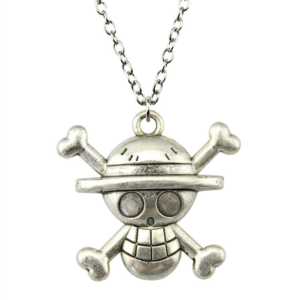 Fashion 29*27mm (1.14*1.06 inches) Skull Pendant Short/Long Chain Necklace Jewelry For Women