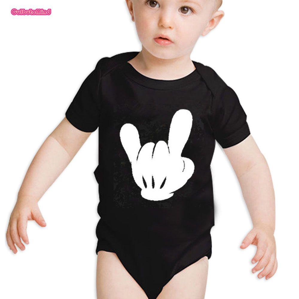 Culbutoind Rock Out Мышь руки душа ребенка подарок vacationbody babyrocknewborn младенческой Best день everbaby Одежда для мальчиков и девочек боди