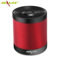 ZEALOT S5 Portable Speaker Outdoor Wireless Bluetooth 4.0 Speakers Active 3D Music Box Support Micro SD Card AUX U Flash Disk