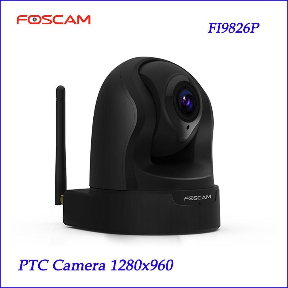 Neue Foscam FI9826P 3x Optischer Zoom H.264 1,3 Megapixel HD Pan/Tilt/Zoom Überwachungskamera CCTV System PTZ kamera