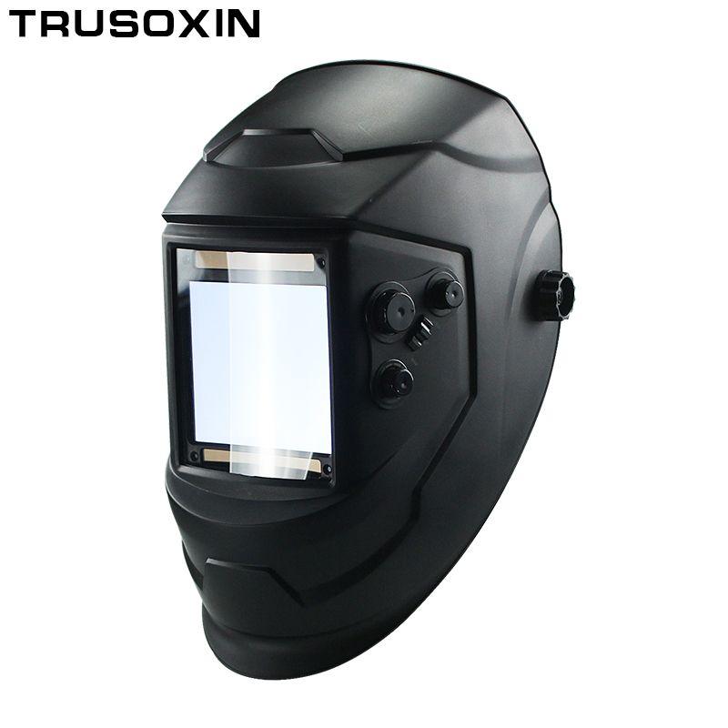 Big View Eara 4 Arc Sensor DIN5-DIN13 Solar Auto Darkening TIG MIG MMA Welding Mask/Helmet/Welder Cap/Lens/Face mask/Goggles