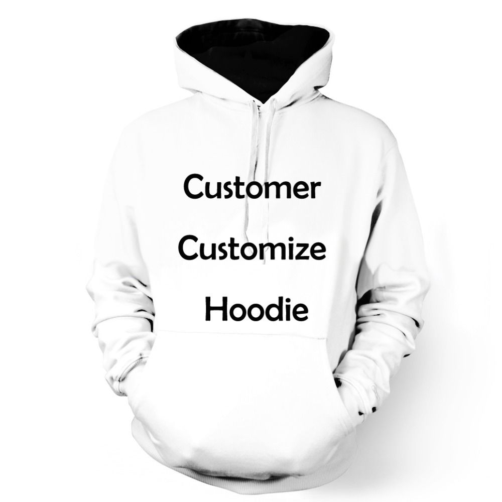 ONSEME Men/Women Long Sleeve Hooded Sweatshirts Customer Customize Hoodies Pullovers DropShipping OHO-01-18